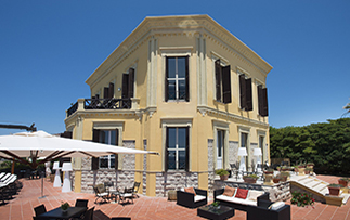 Europe Sardinia Alghero Villa Mosca hotel exterior daytime - luxury vacation destinations