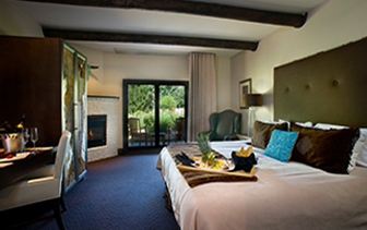 North America United New Mexico Taos El Monte Sagrado hotel room accommodations relax rest  - luxury vacation destinations