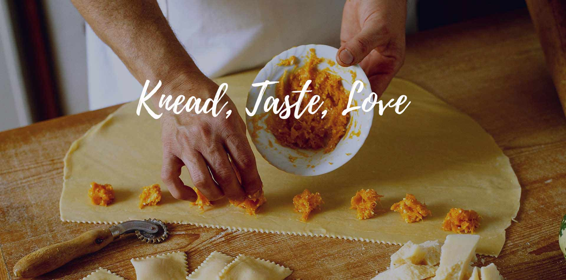 Europe Italy Amalfi Coast chef making butternut squash agnolotti pasta knead taste love - luxury vacation destinations