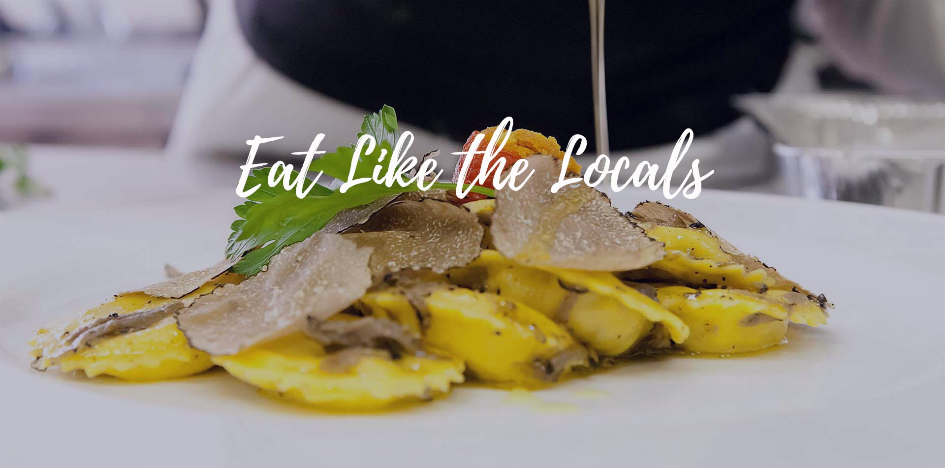 Europe Italy Italian Culinary tour homemade pasta with shaved truffle eat like the locals - luxury vacation destinations
