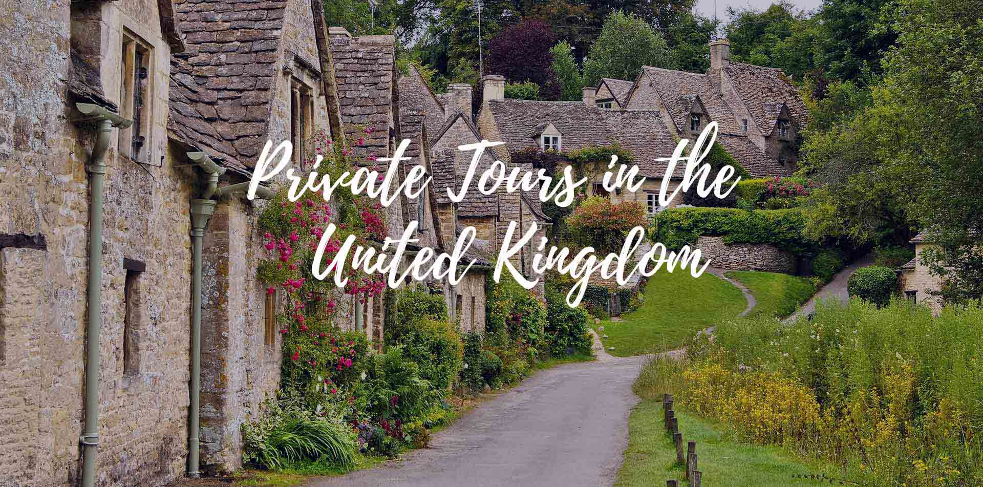 Europe private tours in United Kingdom England Cotswolds historic Arlington Row stone cottages - luxury vacation destinations