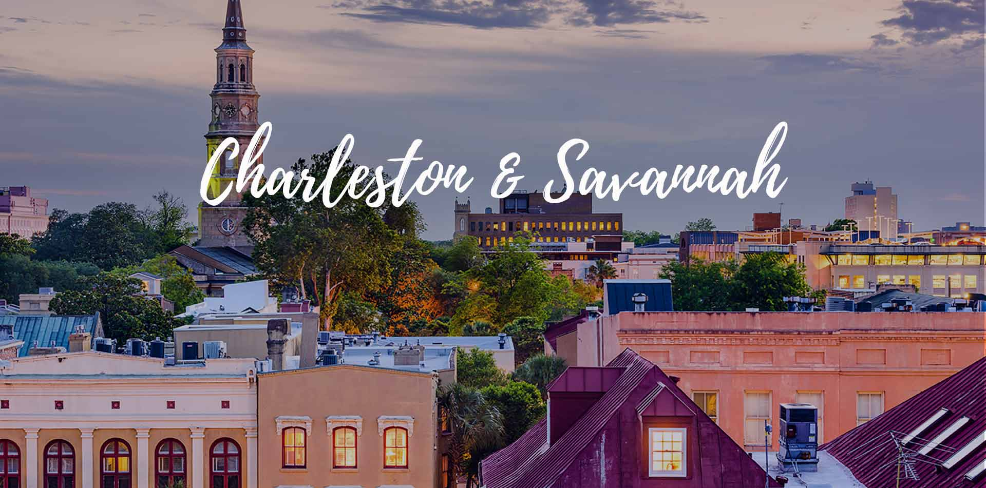 Charleston Savannah Vacation Packages Walking Tour Classic Journeys