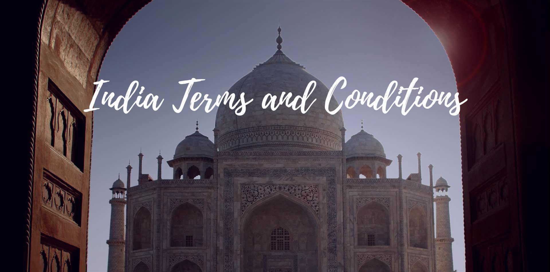 Asia India Agra Taj Mahal dome UNESCO world heritage site India Terms and Conditions - luxury vacation destinations