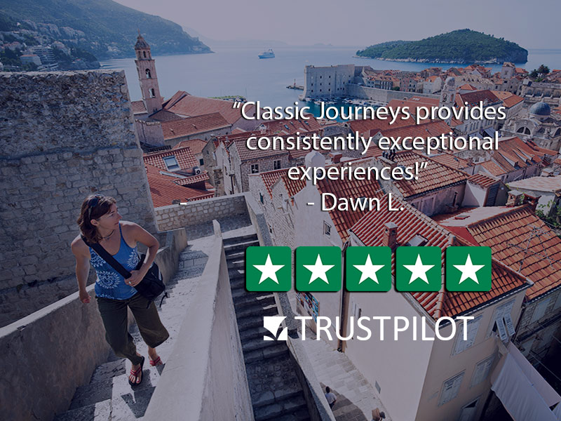 Europe Croatia Dubrovnik woman walking scenic old town consistently exceptional experiences - luxury vacation destinations