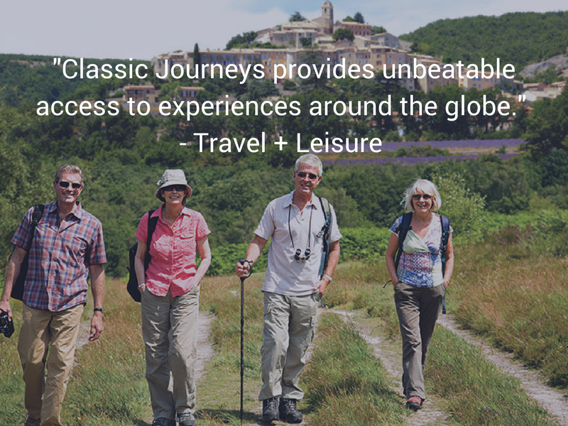 Europe France Provence group walking unbeatable access to global experiences Travel + Leisure - luxury vacation destinations