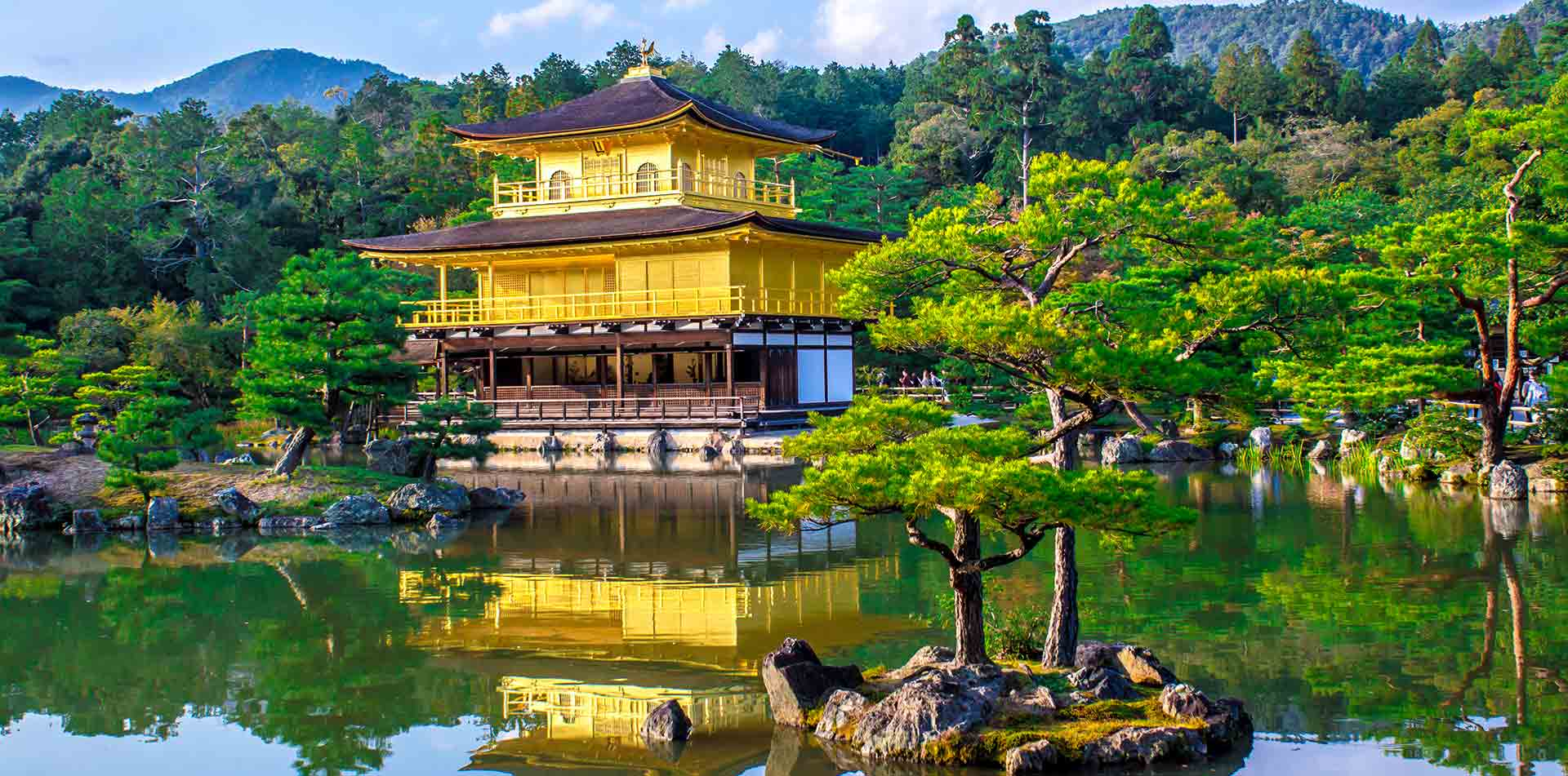 Buddhist Temple in Kyoto, Japan