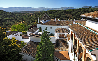 Europe Spain Andalucia Barcelo La Bobadilla hotel aerial view of hotel and surroundings - luxury vacation destinations