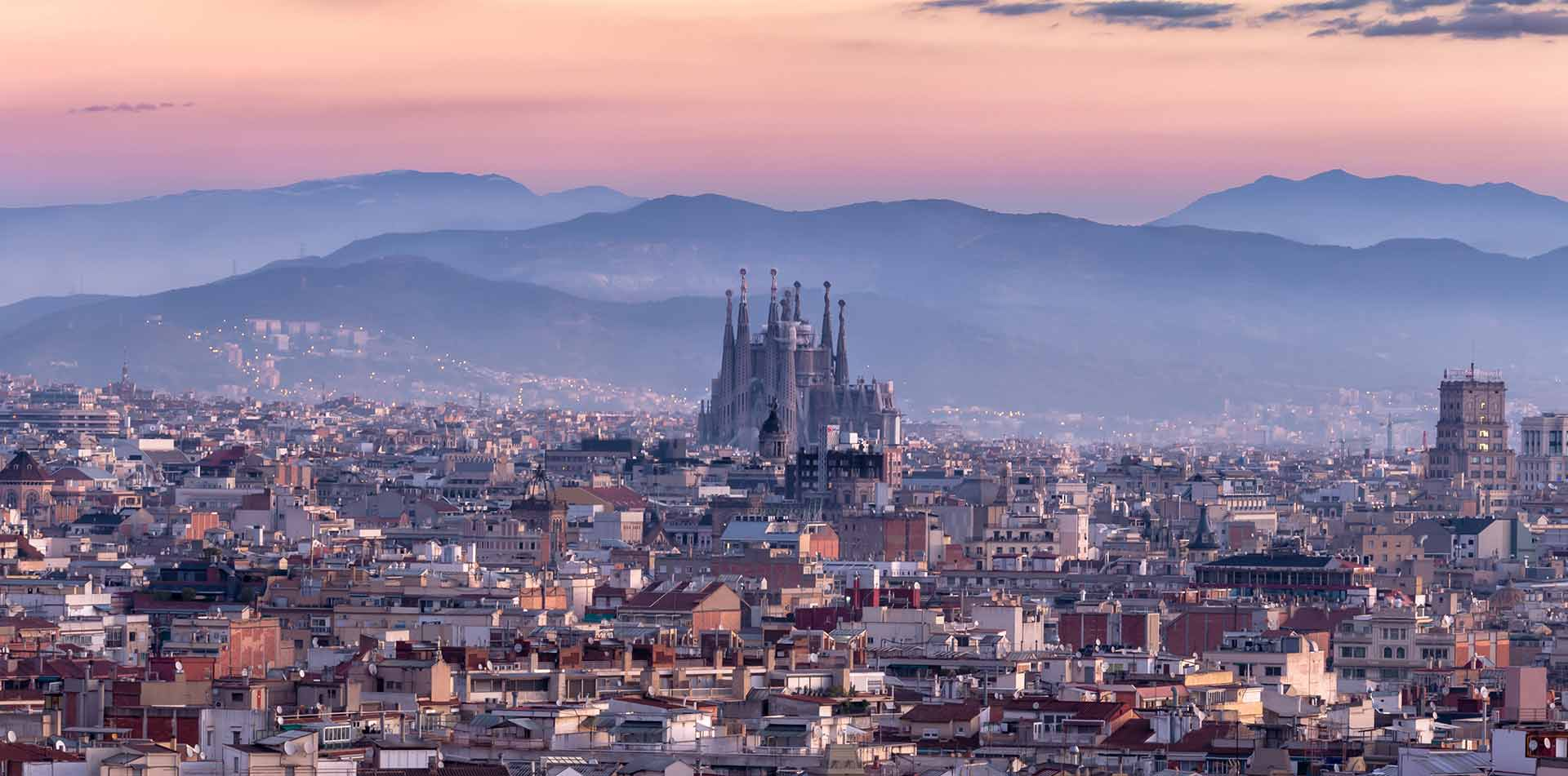 City view of Barcelona, Spain