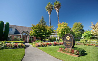 North America United States California Napa Sonoma Vintage Inn entrance Caltech - luxury incentive affinity alumni travel