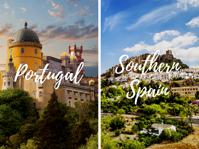 Europe Portugal Southern Spain pairing combination tours back to back - luxury vacation destinations