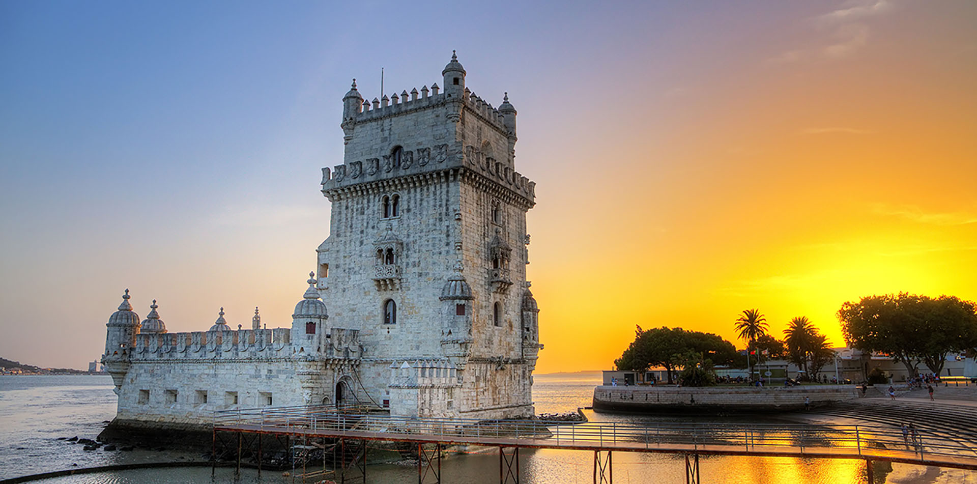 Castle Tower in Portugal