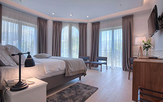 Europe Montenegro Hotel Majestic Budva bright and airy guest bedroom superior - luxury vacation destinations