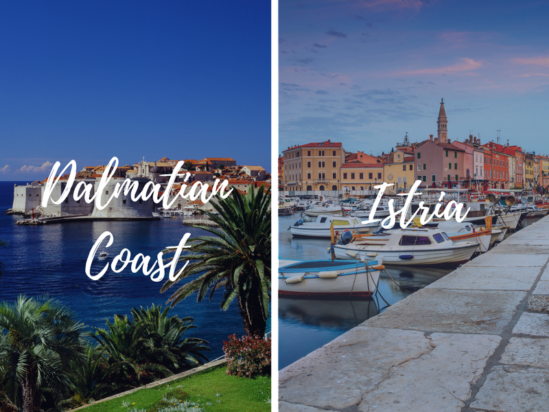 Europe Combine Dalmatian Coast and Istria combination tours back-to-back - luxury vacation destinations