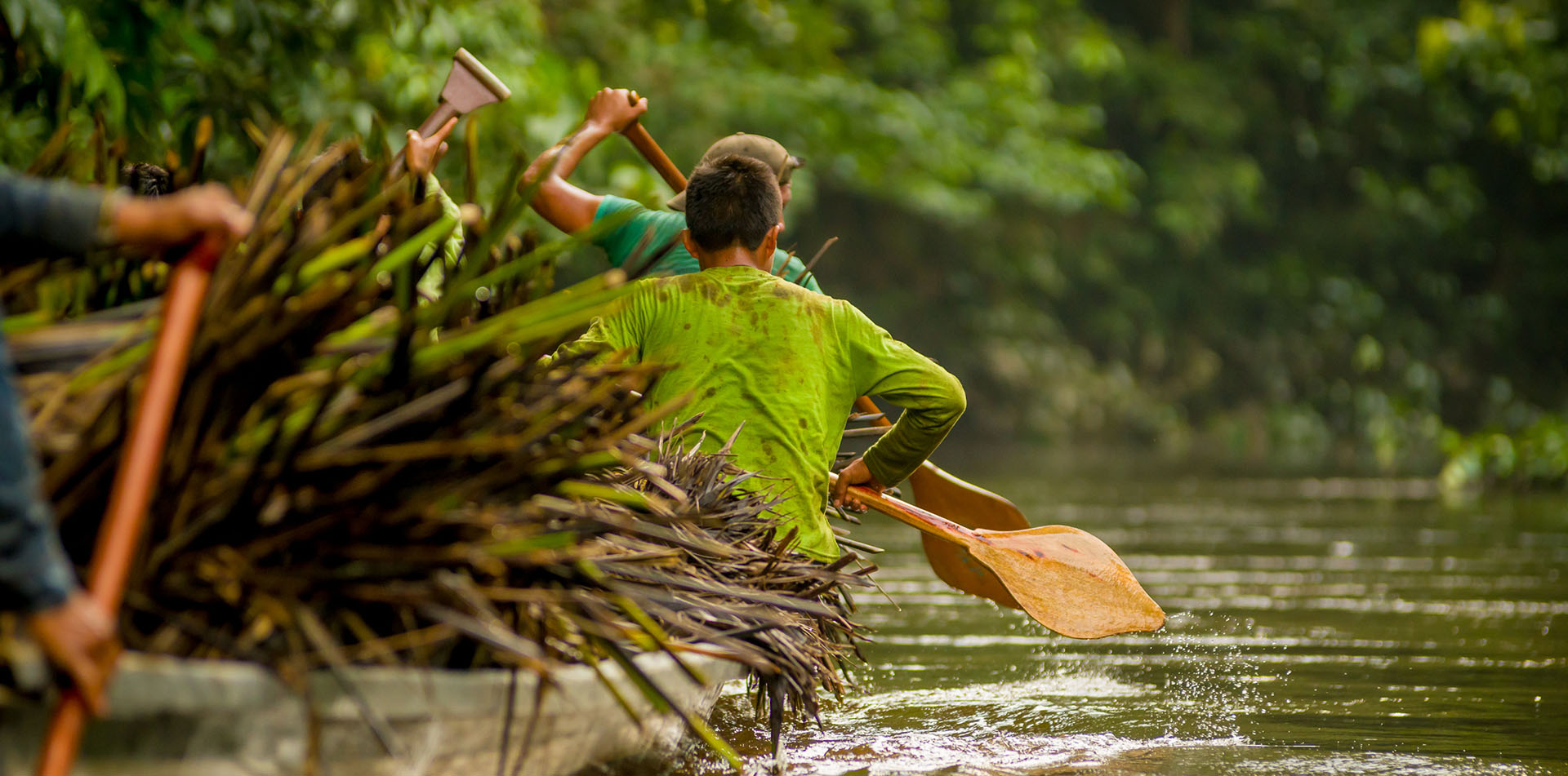 Ecuador South America Amazon river Quito rain forest Canoe in Yasuni National Park - luxury vacation destinations