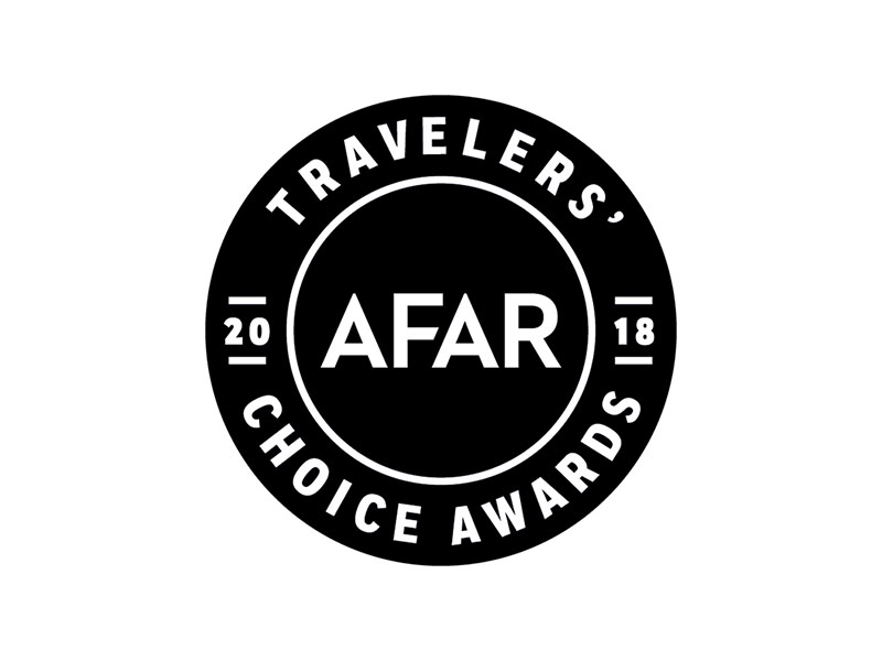 AFAR Travelers Choice Award