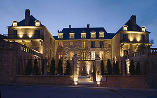 Europe France Bordeaux green meadows medieval quaint beautiful hotel de bouilhac - luxury vacation destinations