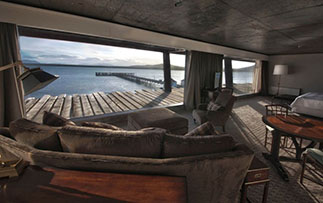 South America Chile Patagonia Suite Hotel Guestroom Relax Scenic View - luxury vacation destinations