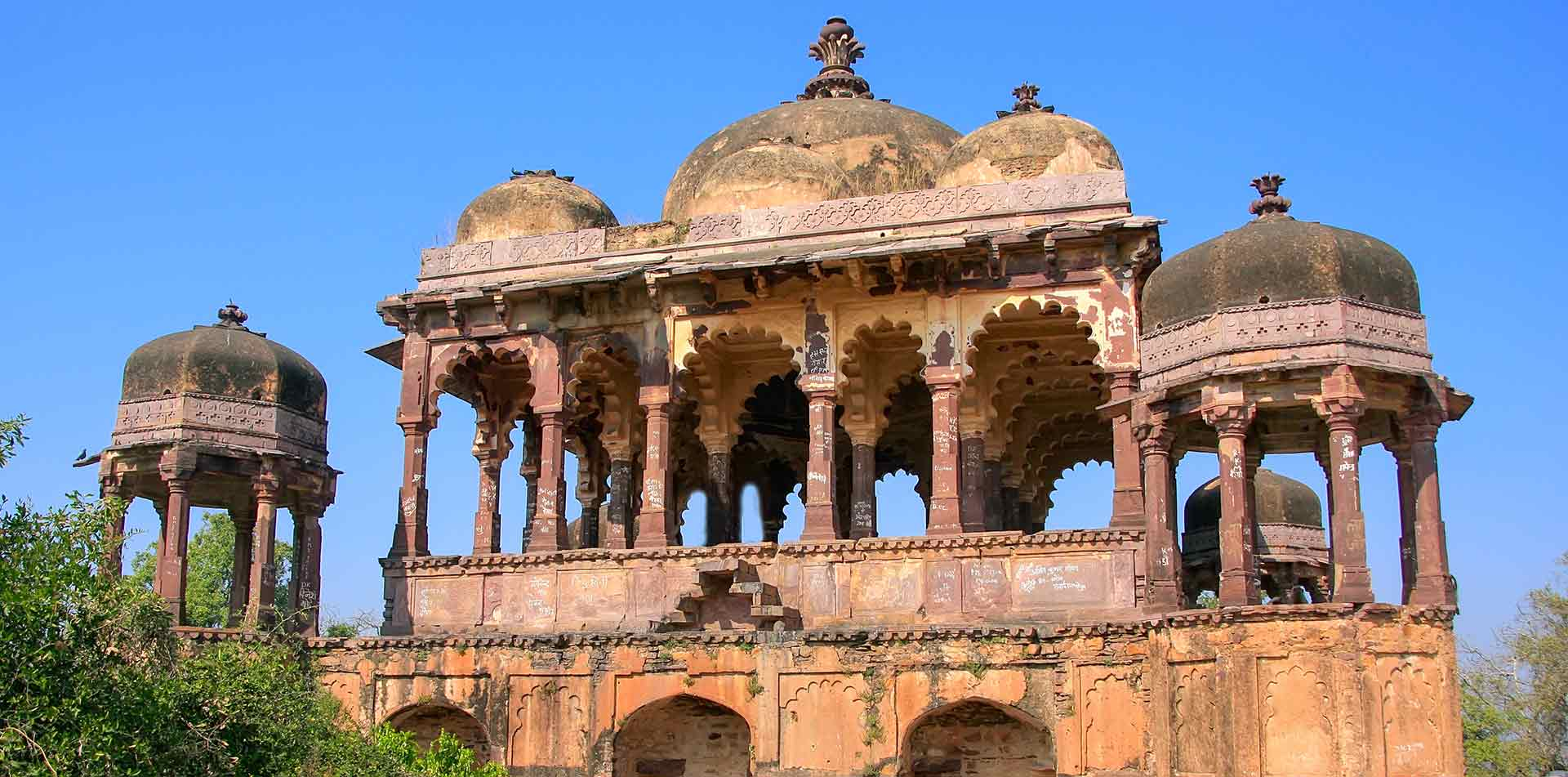 Temple in Rathambore National Park, India