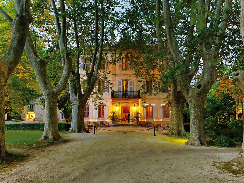 Chateau des Alpilles in Provence, France