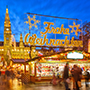 Europe Austria Vienna Rathaus decorated for annual traditional Christmas market celebration - luxury vacation destinations